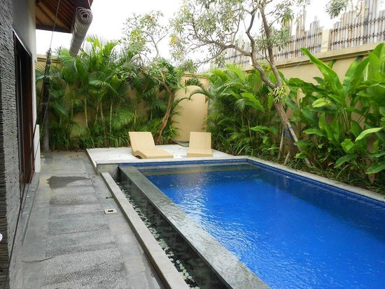Arman Villas Seminyak : Swimming Pool