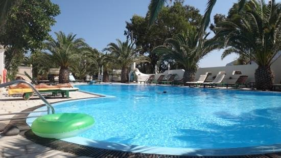 Strogili Hotel: Strogili Kamari pool