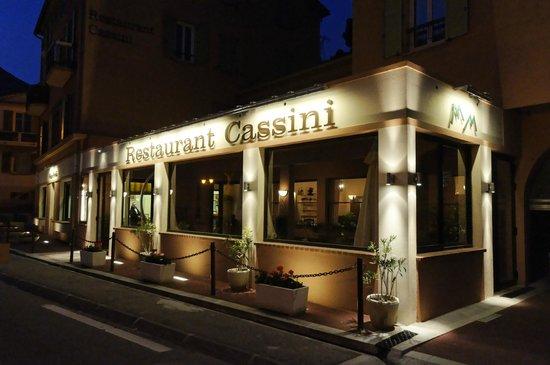 RESTAURANT CASSINI : Facade Nuit