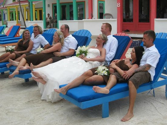 Tranquility Bay Resort: Wedding Party