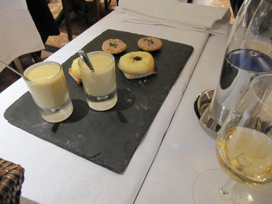 L'auberge du Lyonnais: В ресторане