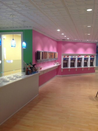 Inside of Sweet Luna's