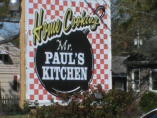 Mr. Paul's Kitchen: Don't Judge a book by its cover !