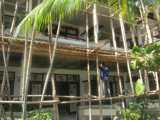 The Tanjung Benoa Beach Resort Bali: construction area