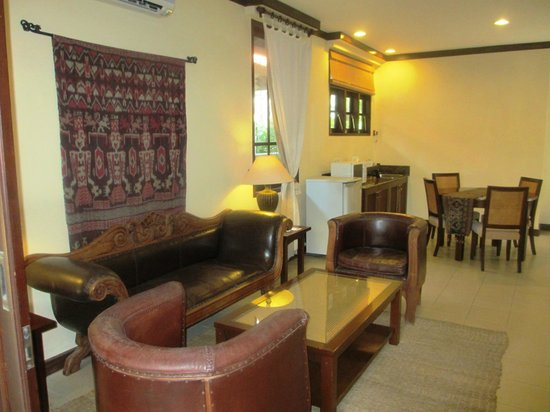 The Tanjung Benoa Beach Resort Bali: Livingroom