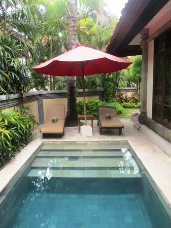 The Tanjung Benoa Beach Resort Bali: private villa pool