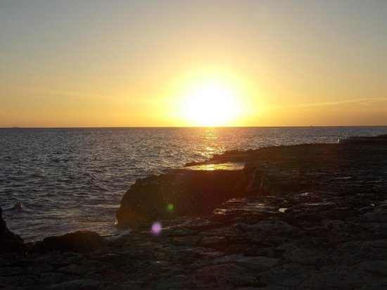 Viva Wyndham Dominicus Beach: atardecer