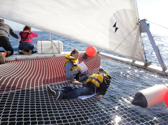 Marine Discovery: Chilled children!