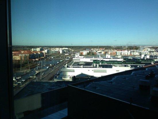 Break Sokos Hotel Flamingo: Nice sky, shame about the shopping centre!