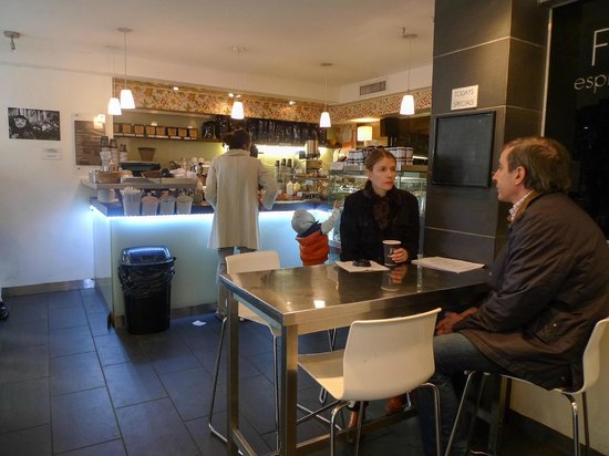Fika Espresso Bar: Interior FIKA Espresso