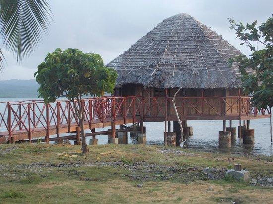 Yandup Island Lodge: cabaña sobre el mar