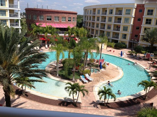 View from our room - Picture of Melia Orlando Suite Hotel at Celebration - TripAdvisor