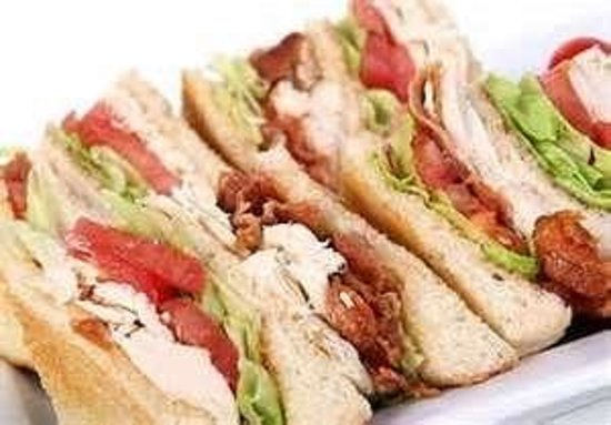 Corner Grille: turkey bacon club