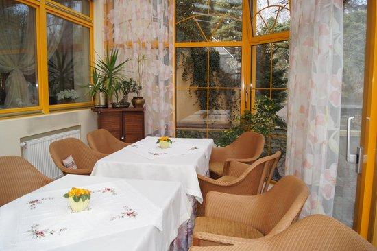 Hotel Bartan Gdansk Seaside: zimowy ogród