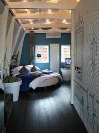 Boutique B&B Kamer01: Blue Room Sleeping Area
