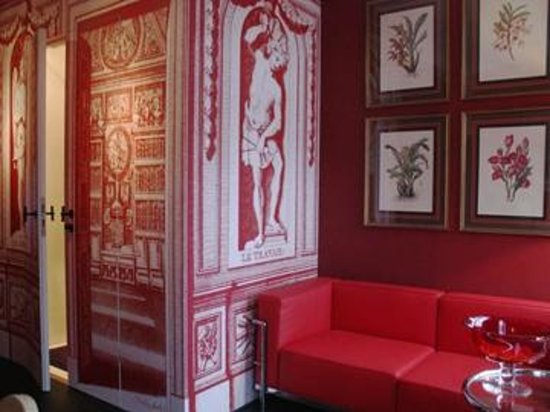 Boutique B&B Kamer01: Red Room Lounge