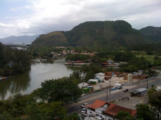 Hotel Serramar: Vista do meu quarto!