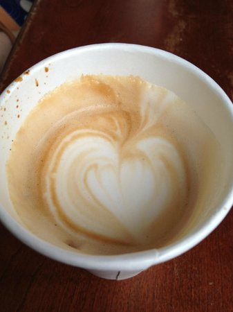 Chew Philly Food Tours: Cappuccino from Volo