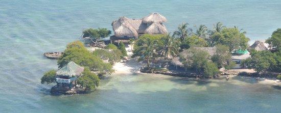Isla Tintipán, Colombia: Foto Aerea