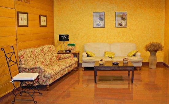 Hotel Villa de Elciego : Zonas comunes para descansar tras una jornada enoturística intensa