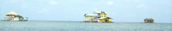 Isla Tintipán, Colombia: Casas Flotantes de Tintipan