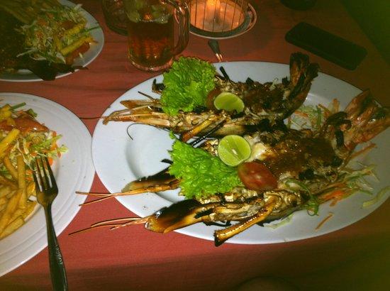 Peacock Seafood Restaurant: Jumbo prawn