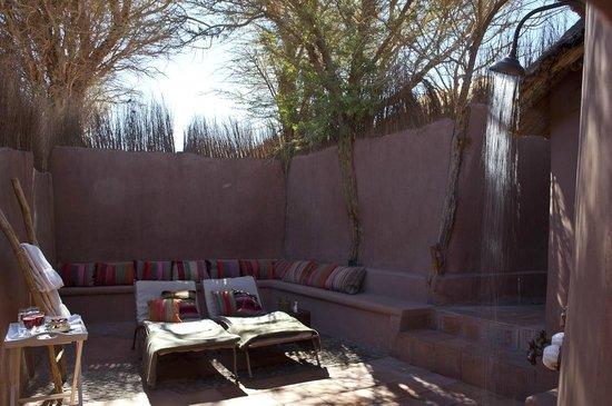 Awasi Atacama - Relais & Chateaux: Private Patio