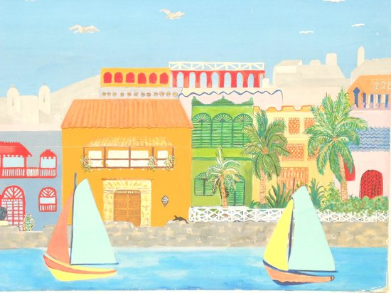 Hotel Puntanorte: Arte NAIF, hecho por Carolina Bernal