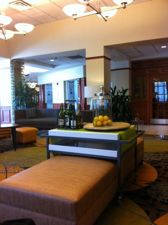 Hilton Garden Inn Detroit Downtown: reception area