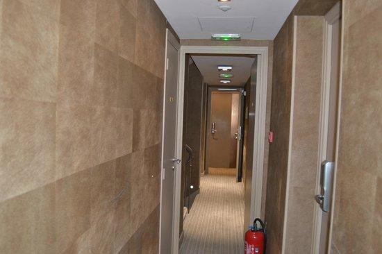 Hôtel Apollon Montparnasse : the corridor to the room