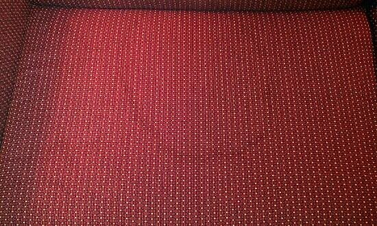 Hawthorn Suites by Wyndham Cincinnati: stained sofa