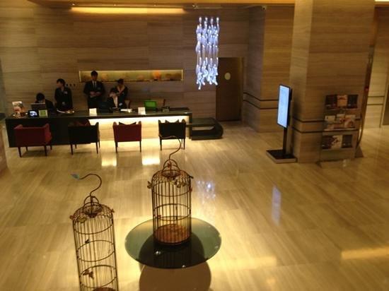The T Hotel: T Hotel Reception Desk