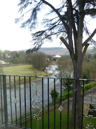 White Waters Country Hotel: View from Cedar room