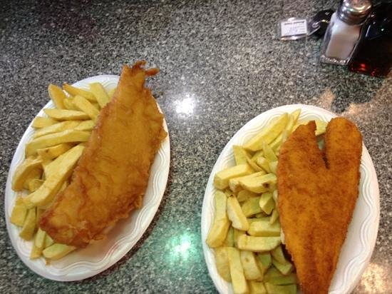 Fish&Chips: haddird and special fish
