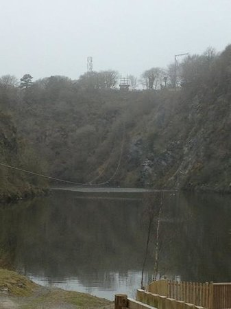 Adrenalin Quarry: bottom view