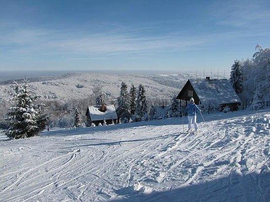 Carpathian Meadows (Karpats'ki Polonyny) Hotel: Skiing