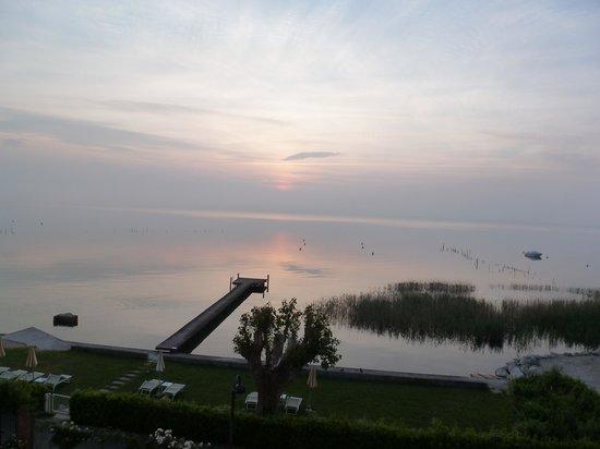 Hotel Europa: lever de soleil de la chambre