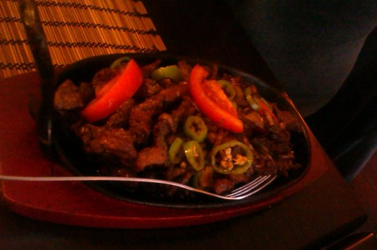 Blue Nile Restaurant: one of the beef dishes