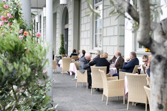 Hotel Schweizerhof Luzern: Terrasse