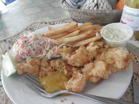 Max's Conch Bar & Grill: Crack Conch