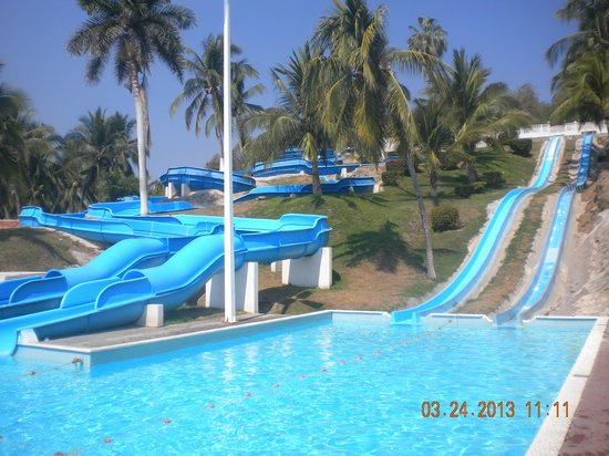 Gran Festivall All Inclusive Resort: Los toboganes