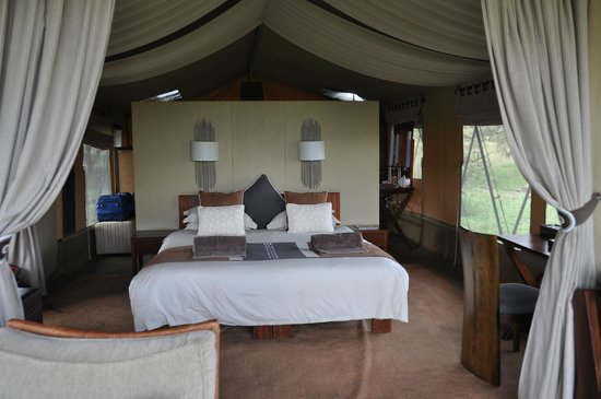 Naboisho Camp, Asilia Africa: Our room!