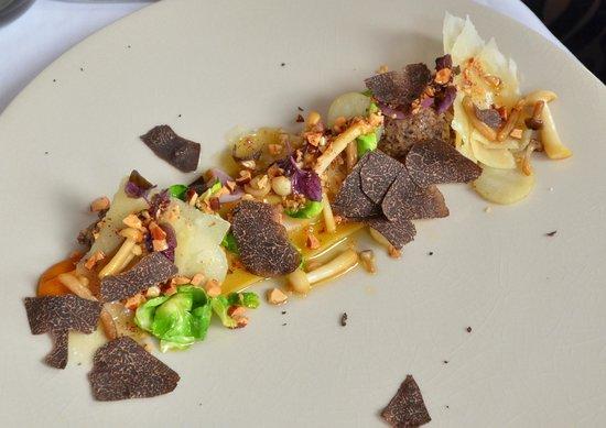 L'Auberge du Bonheur: hoofdgerecht vegetarisch