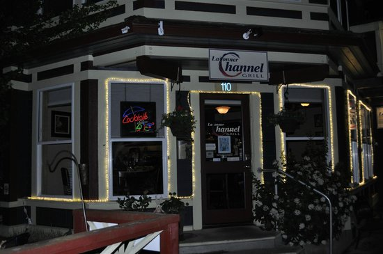 La Conner Channel Grill: The Front at Night