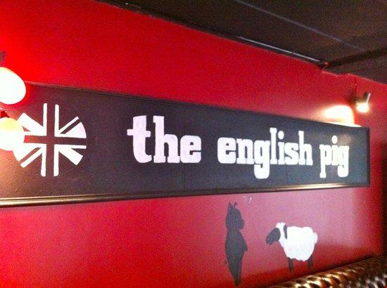 The English Pig : .