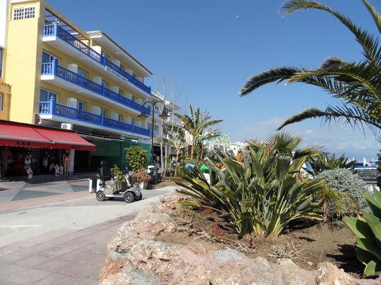 La Carihuela: Het strand .