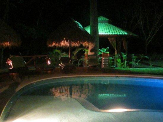 Playa Cielo: we enjoyed swimming in the pool almost every night