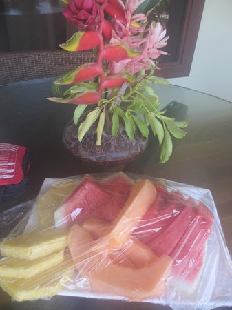 Playa Cielo: loved having fresh fruit brought to us every morning