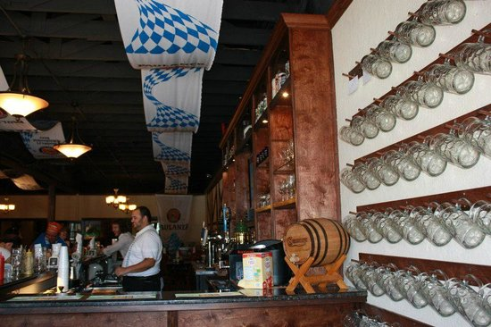 Gerhard's German Restaurant & Bar: Gerhard's Beer Stein Wall