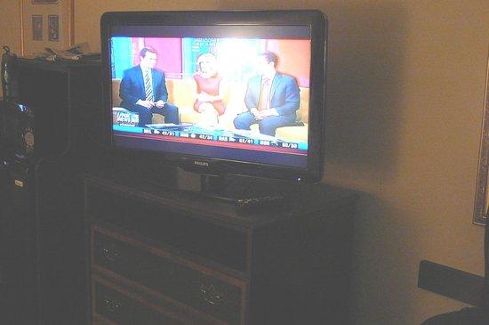 Hampton Inn & Suites Alpharetta: Flat screen TV